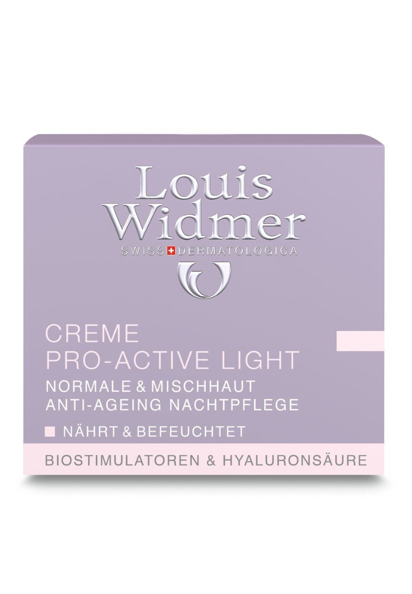 Louis WIdmer Creme Pro Active Light-leicht Parfümiert