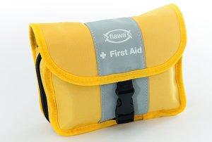 FLAWA Individuelle Reise-Apotheke gelb/grau