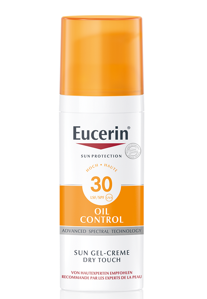 EUCERIN SUN Oil Control Gel-Creme Anti Glanz LSF30 50 ml
