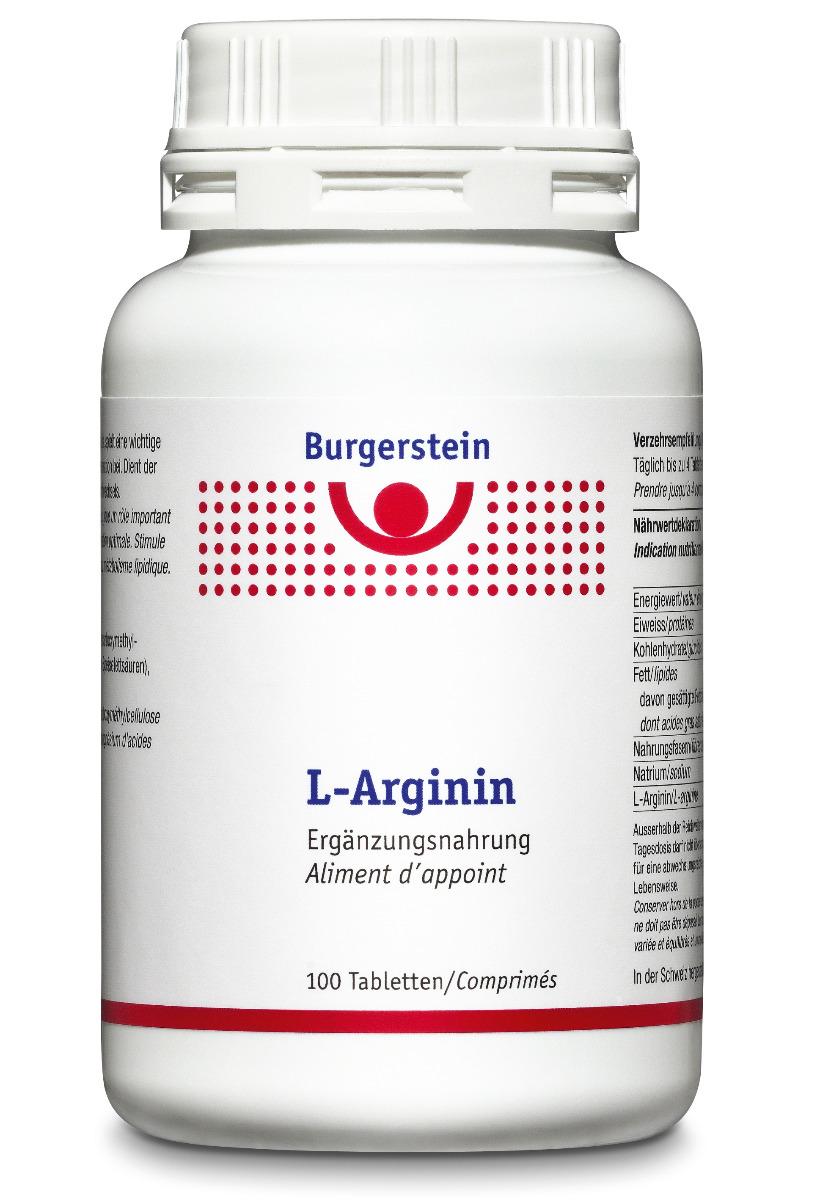 BURGERSTEIN L-Arginin Tabl 100 Stk