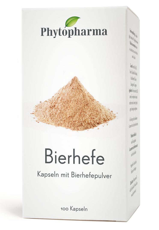 PHYTOPHARMA Bierhefe Kaps 100 Stk