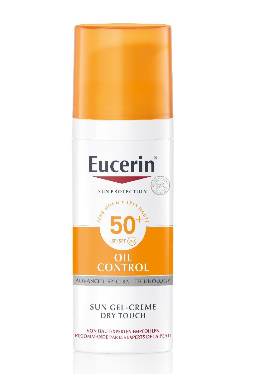 EUCERIN SUN Oil Control Sun Gel-Creme LSF50+ 50 ml