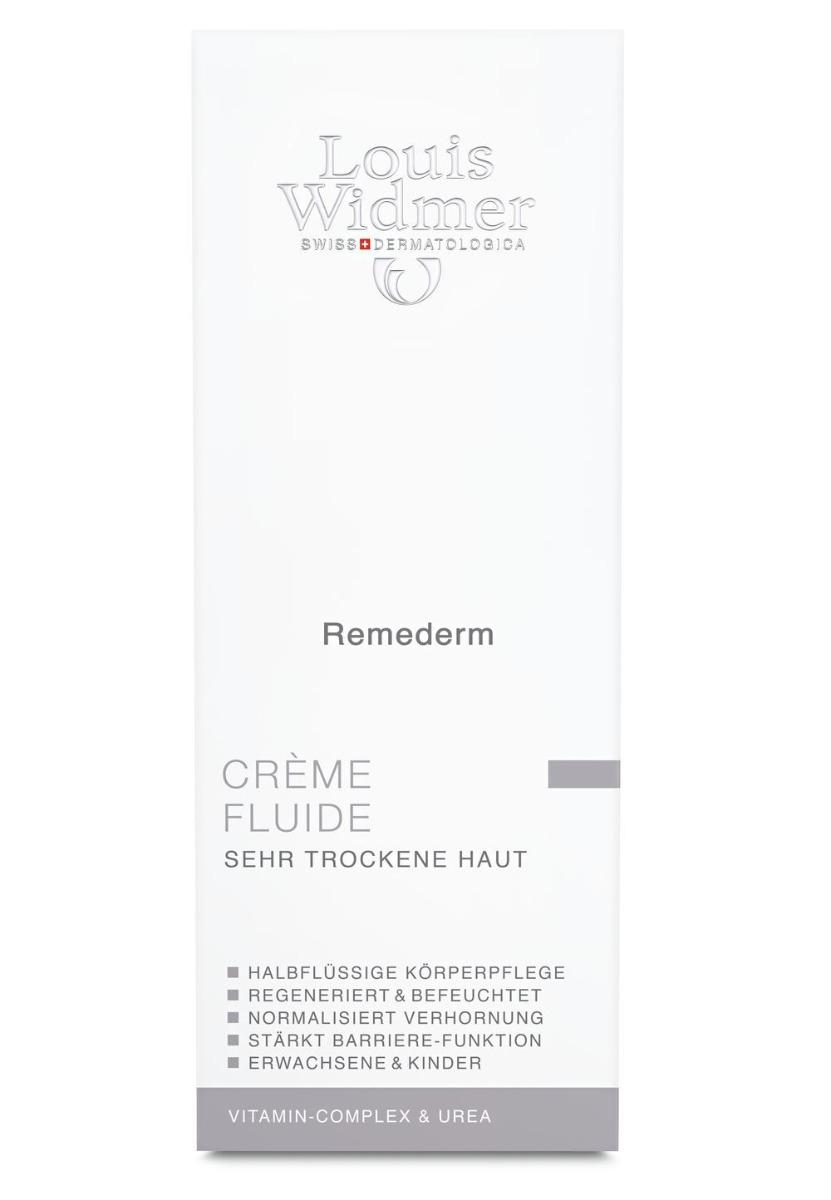 Louis Widmer Remederm Crème Fluide 200ml-leicht Parfümiert