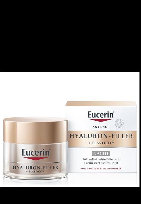 EUCERIN HYAL-FILLER+Elasticity Nachtpflege 50 ml