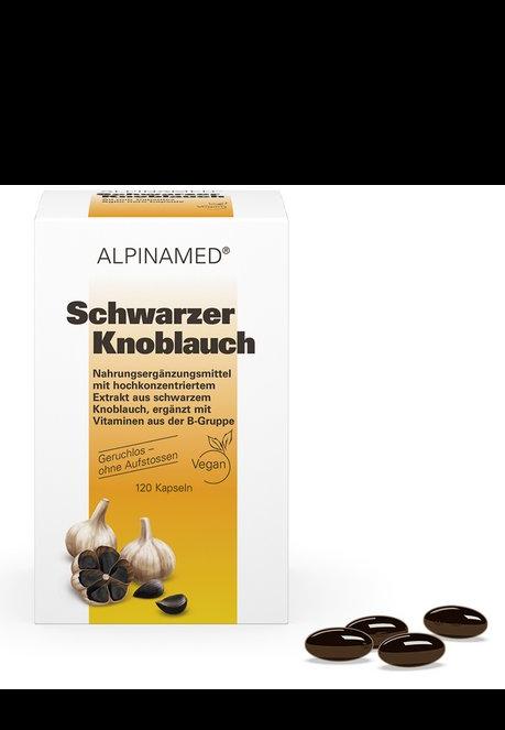 ALPINAMED Schwarzer Knoblauch Kaps 120 Stk