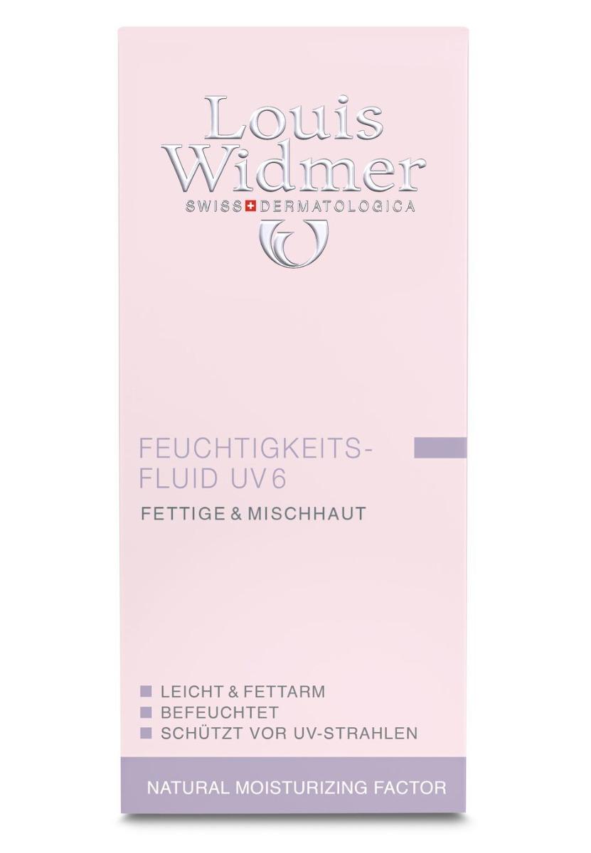 Louis Widmer Feuchtigkeitsfluid UV6 60ml-leicht Parfümiert