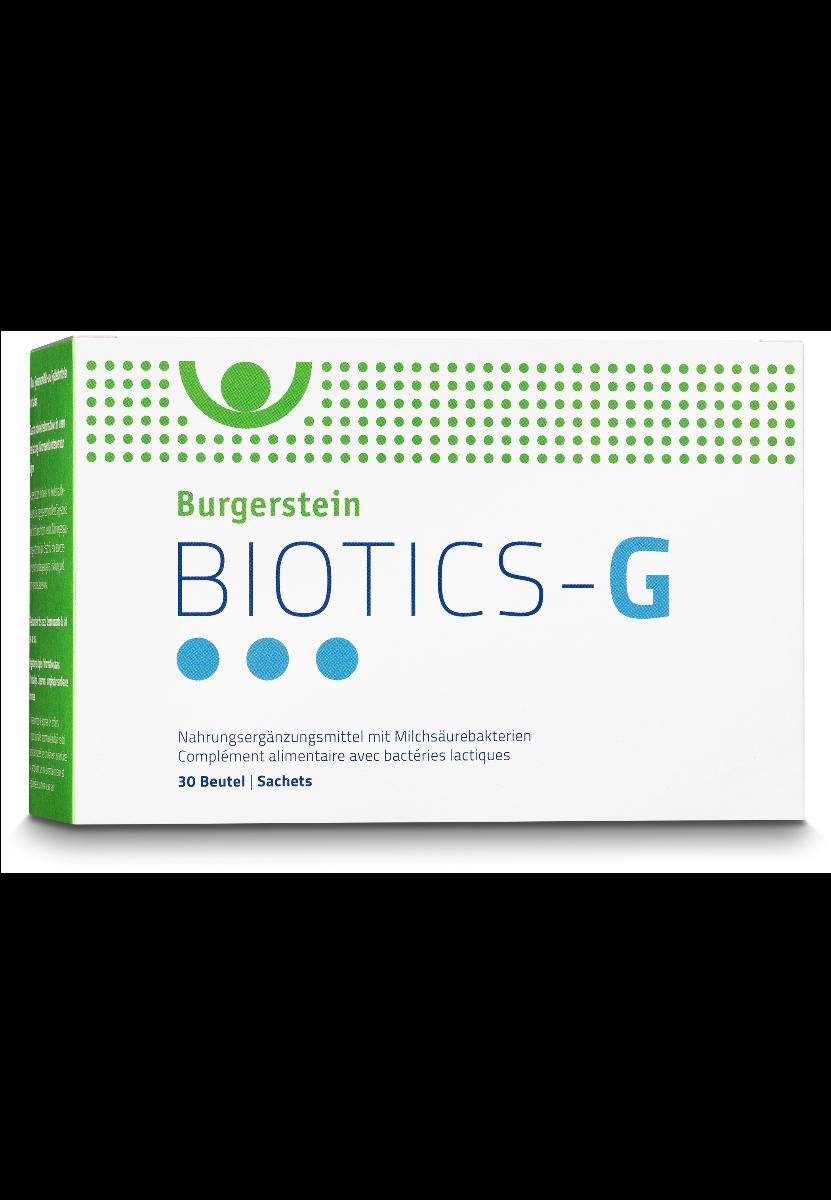 BURGERSTEIN Biotics-G Plv Btl-30 Beutel