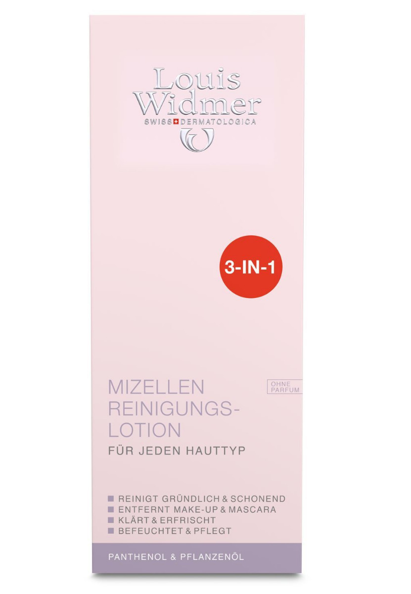 Louis Widmer Mizellen Reinigungslotion o.P 200ml
