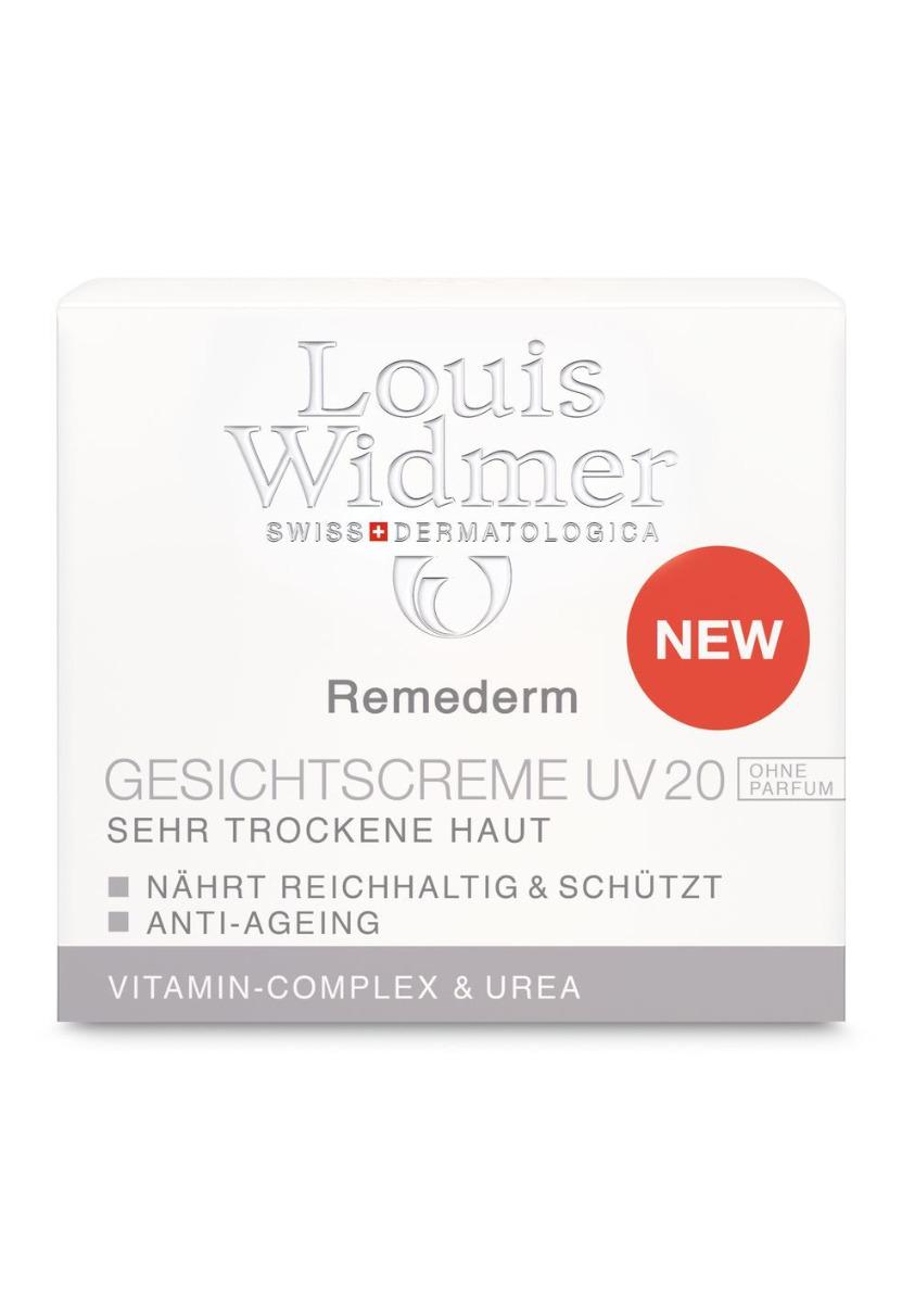 Louis Widmer Remederm Gesichtscreme UV20 50ml-ohne Parfüm