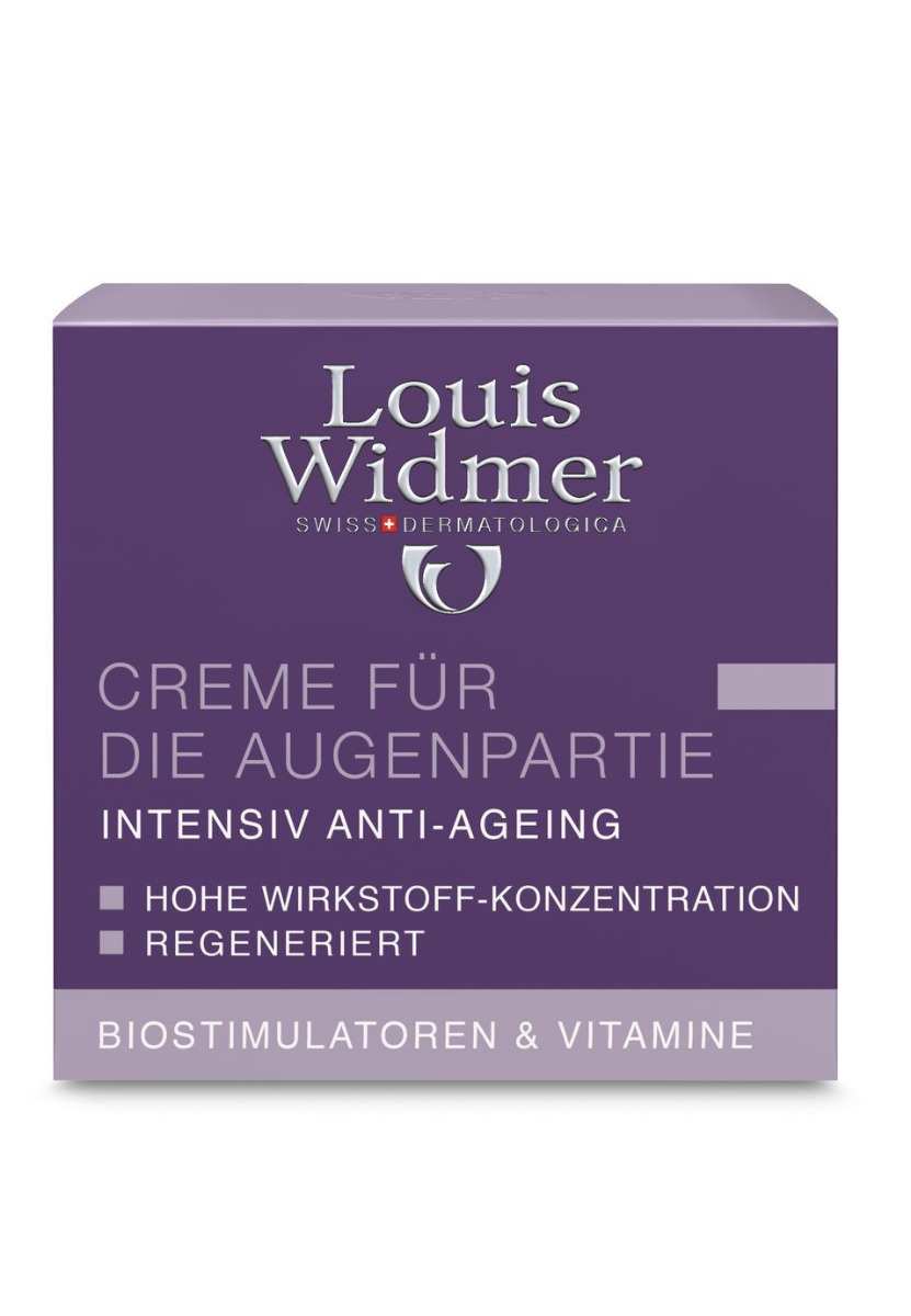 Louis Widmer Creme für die Augenpartie-leicht Parfümiert