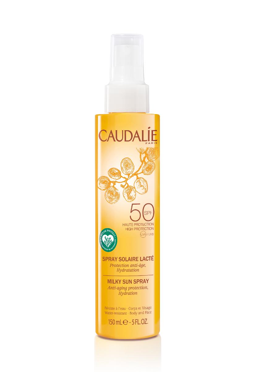 Caudalie Sonnenmilch Körper und Gesicht Spray SPF 50 150ml