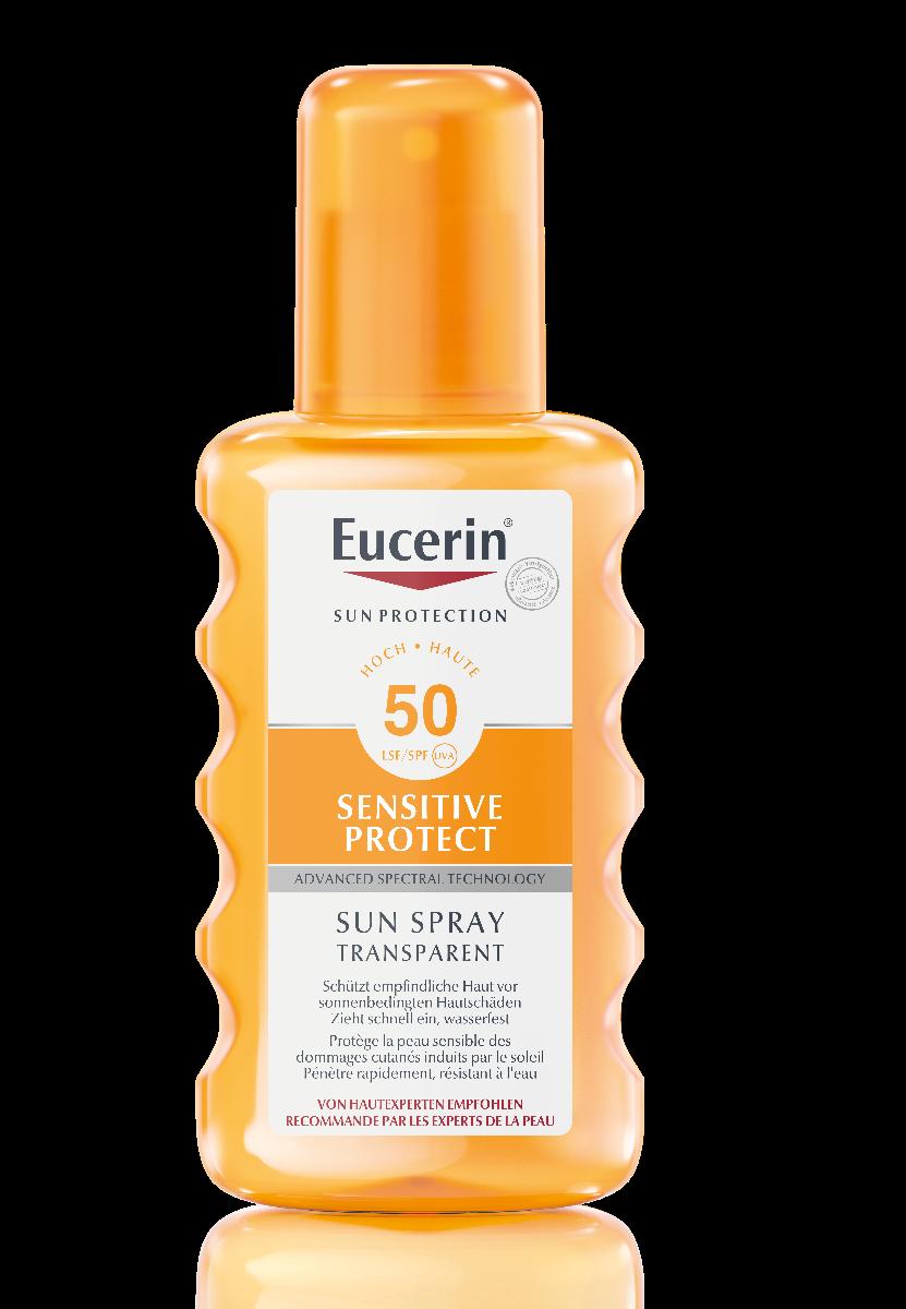 EUCERIN SUN Sens Protect Spray Trans LSF50 200 ml