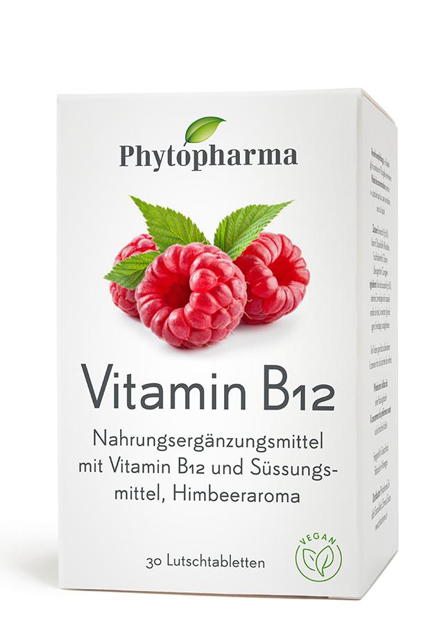 PHYTOPHARMA Vitamin B12 Lutschtabl Ds 30 Stk