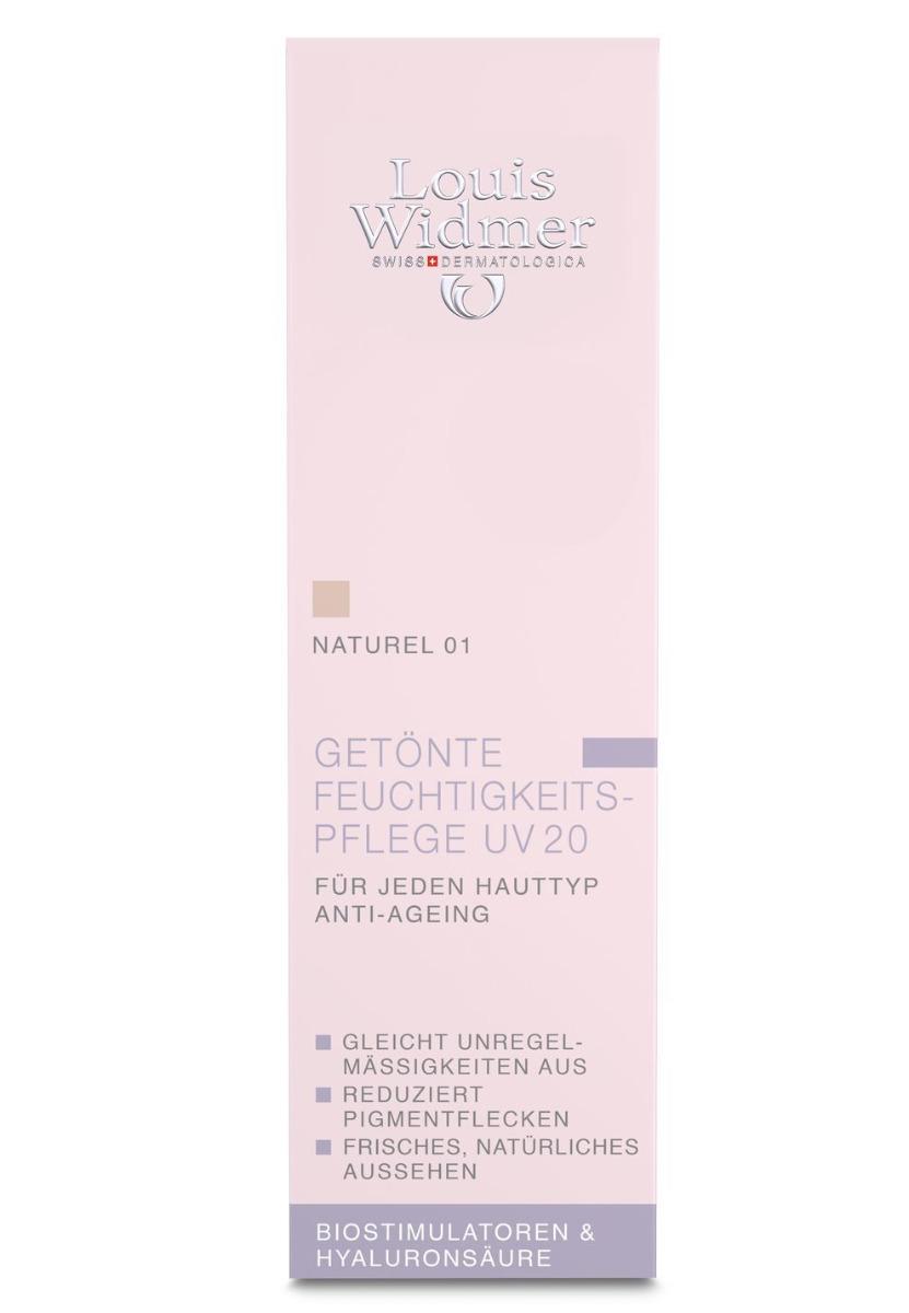 Louis Widmer getönte Feuchtigkeitspflege UV20 30ml-Natural-ohne Parfüm