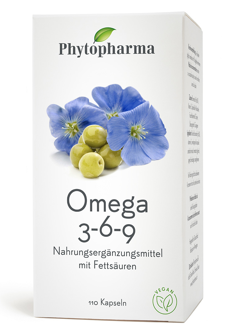 PHYTOPHARMA Omega 3-6-9 Kaps 110 Stk