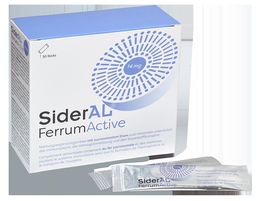 SIDERAL Ferrum Active Plv 30 Btl 1.6 g