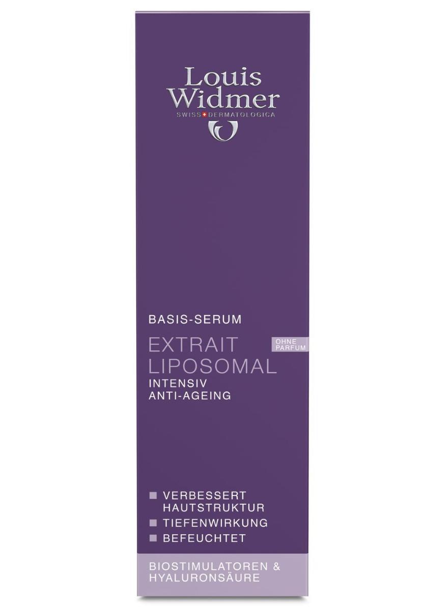 Louis Widmer Extrait Liposomal 30ml-ohne Parfüm