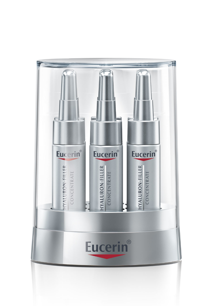 EUCERIN HYALURON-FILLER Serum Konzentrat 6 x 5 ml