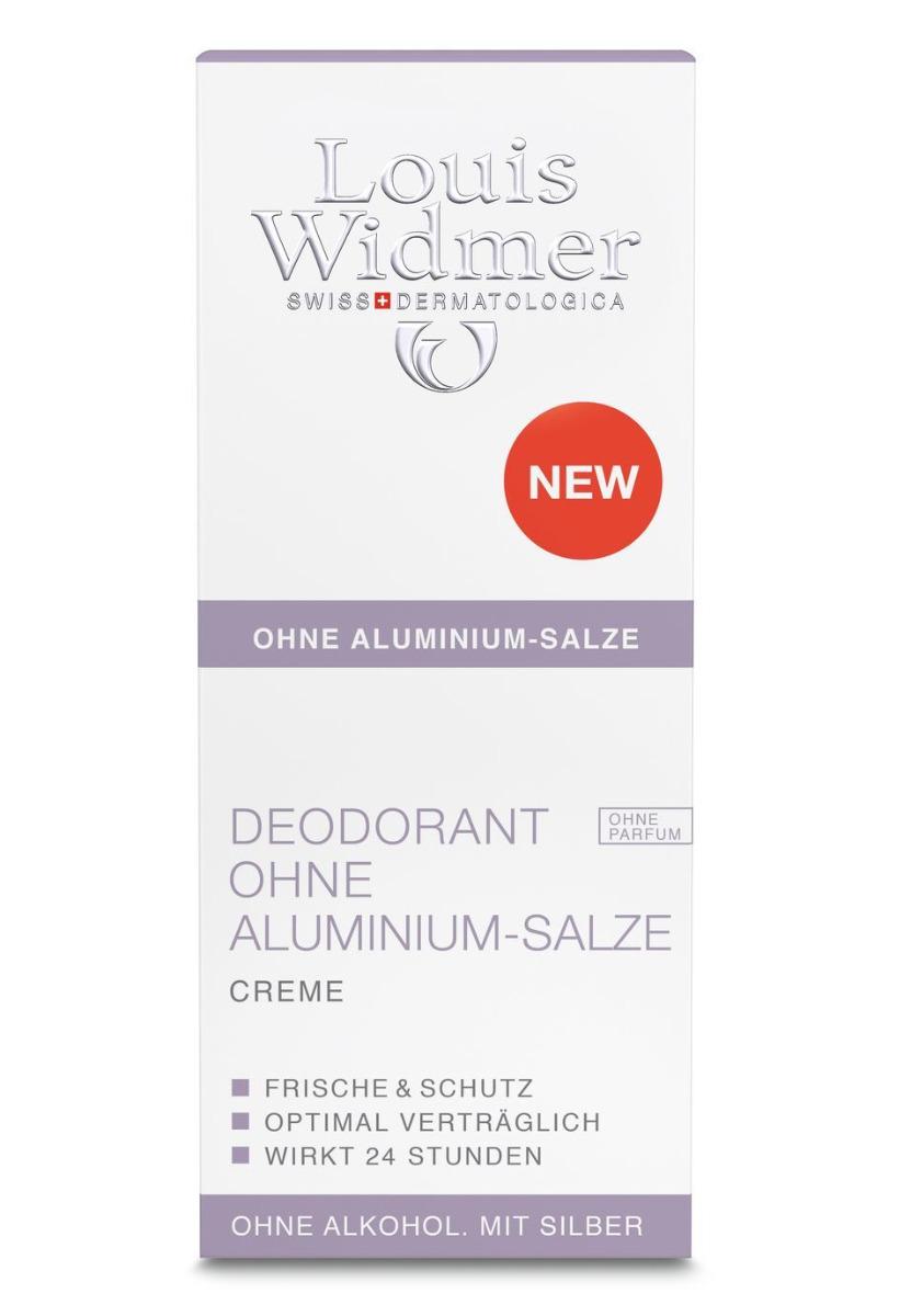 Louis Widmer Deo ohne Aluminium Salze Creme 40ml-ohne Parfüm