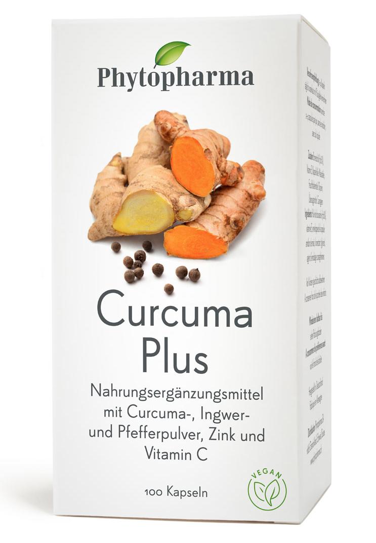 PHYTOPHARMA Curcuma Plus Kaps Fl 100 Stk