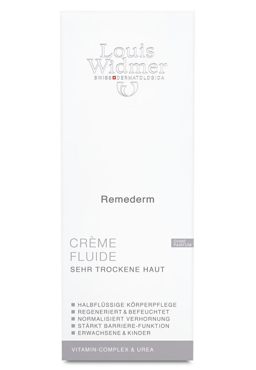 Louis Widmer Remederm Crème Fluide 200ml-ohne Parfüm