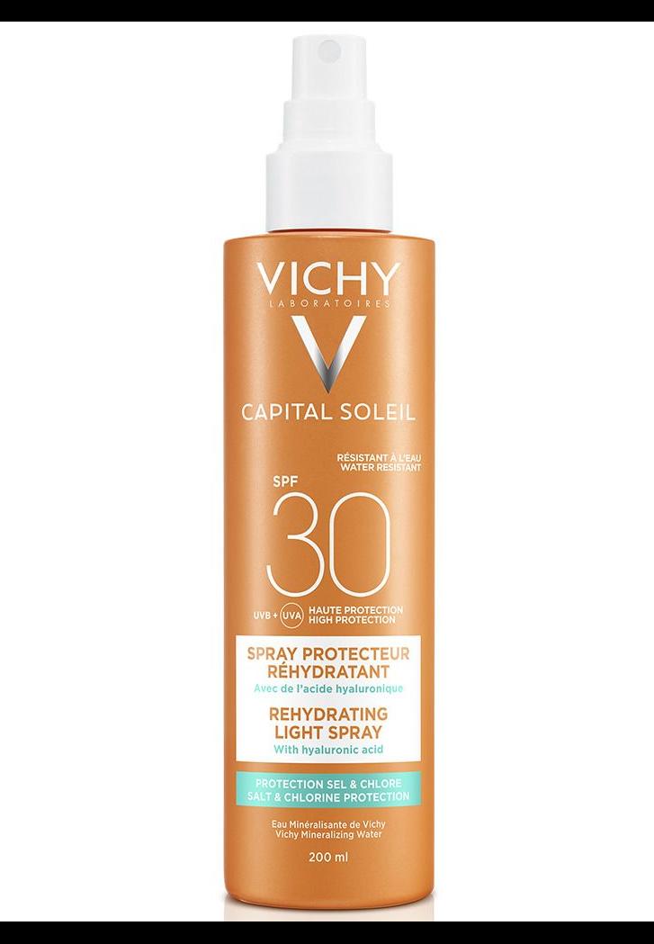 VICHY Capital Soleil Multi-Schutz Spray 50+ 200 ml-SPF 30