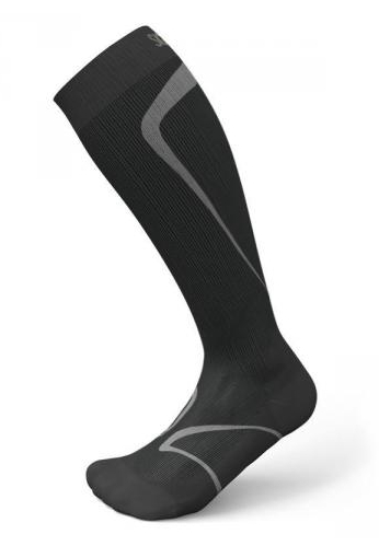 SIGVARIS Running Socks black 1 Paar-M 39-42.5