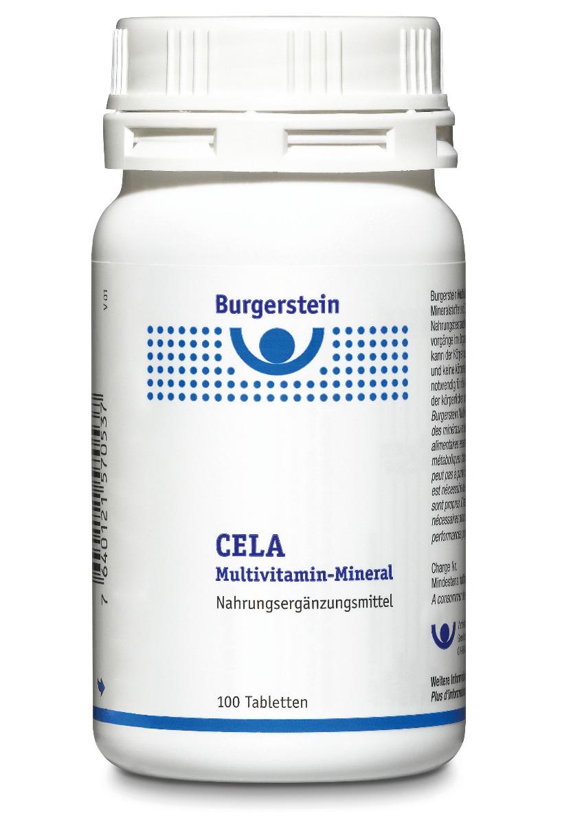 BURGERSTEIN CELA Multivitamin-Mineral Tabl 100 Stk