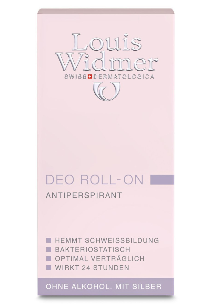 Louis Widmer Deo  Roll-on 50ml-leicht Parfümiert