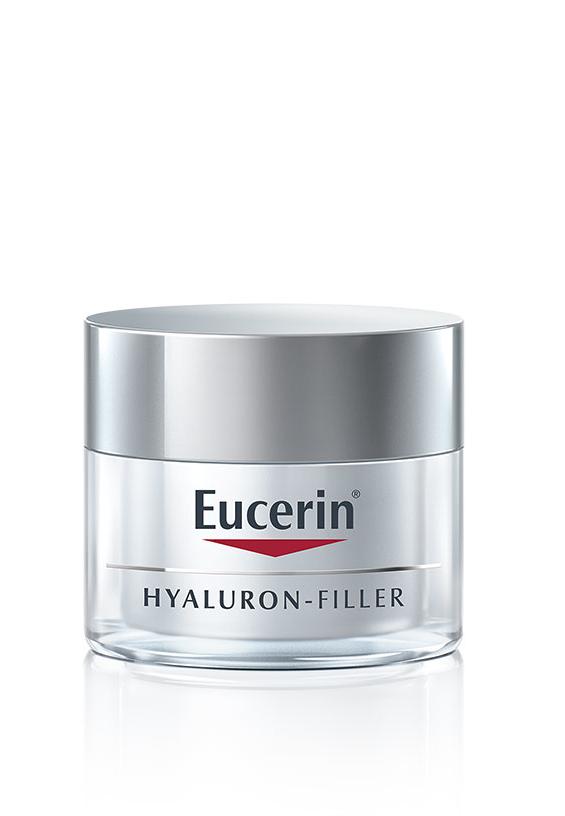 EUCERIN HYALURON-FILLER Nacht trockene Haut Topf 50 ml