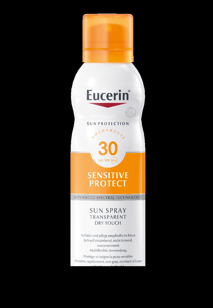 EUCERIN SUN Sens Protect Spray Transparent Dry LSF30 200 ml