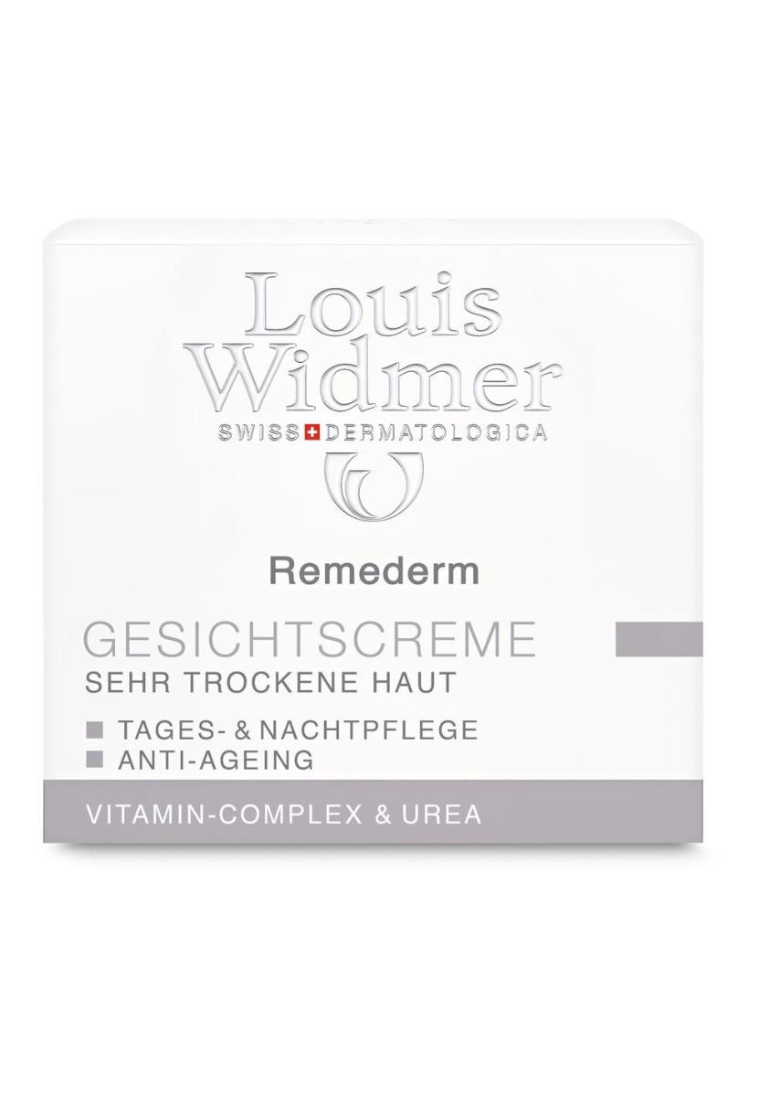 Louis Widmer Remederm Gesichtscreme 50ml-leicht Parfümiert
