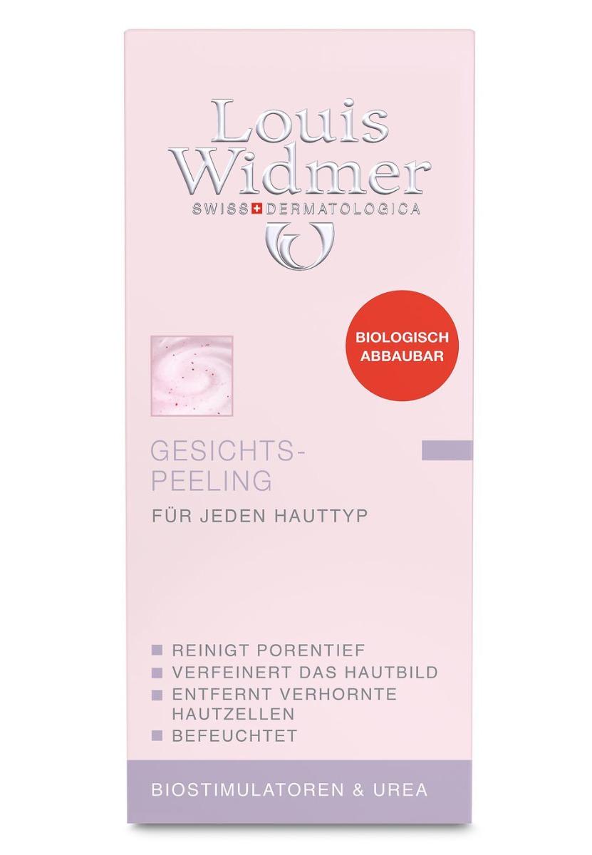 Louis Widmer Gesichtspeeling oP 50ml-leicht Parfümiert