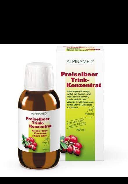 ALPINAMED Preiselbeer Trink-Konzentrat 100 ml
