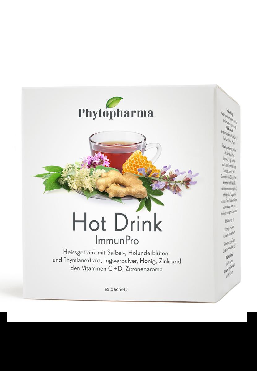 PHYTOPHARMA Hot Drink Btl 10 Stk