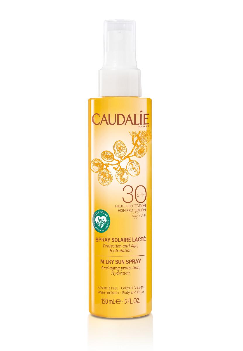 Caudalie Sonnenmilch Körper und Gesicht Spray SPF 30 150ml