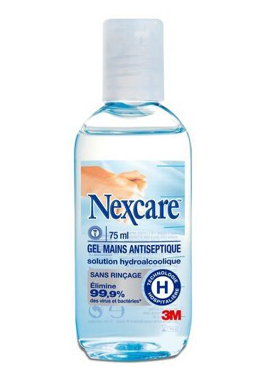 3M NEXCARE Händedesinfektions-Gel 500 ml-75ml