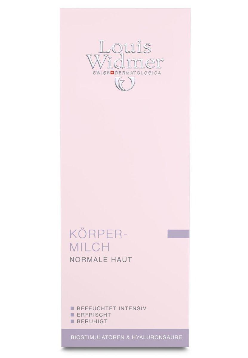 Louis Widmer Körpermilch 200ml-leicht Parfümiert