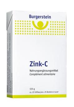 BURGERSTEIN Zink-C Toffees 115 g
