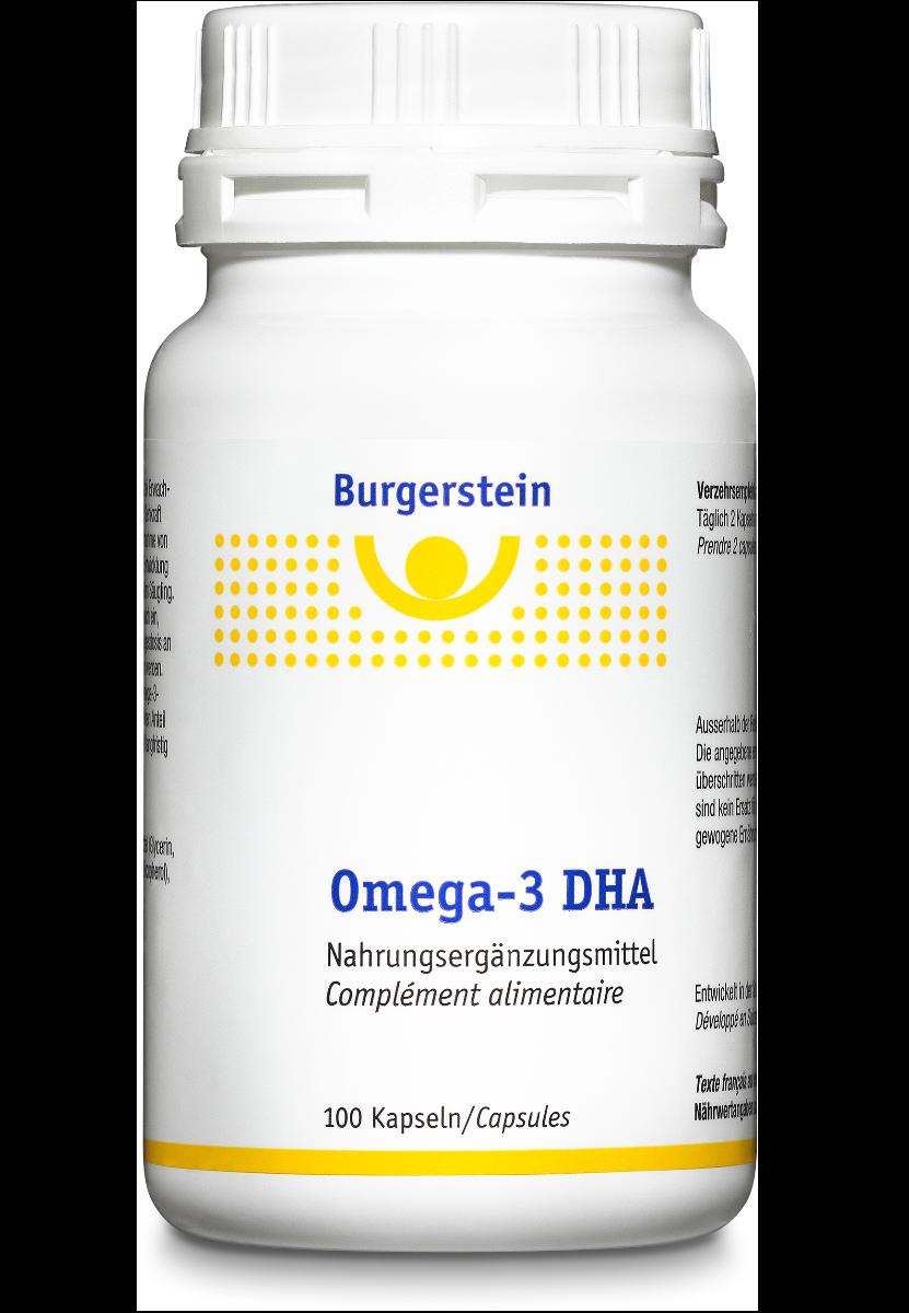 BURGERSTEIN Omega-3 DHA Kaps 100 Stk